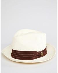 Chapeau de paille blanc Goorin Bros.