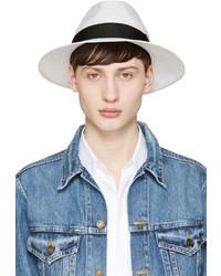 Chapeau de paille blanc Junya Watanabe