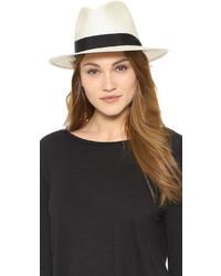 Chapeau de paille blanc Rag & Bone
