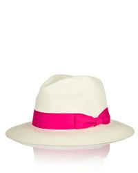 Chapeau de paille blanc Sensi