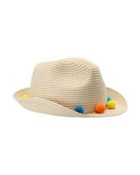 Chapeau de paille brun clair Aldo