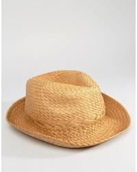 Chapeau de paille marron clair Esprit