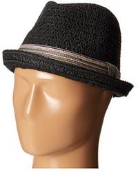 Chapeau de paille noir
