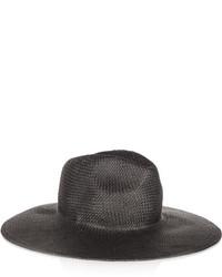 Chapeau de paille noir Madewell