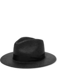 Chapeau de paille noir Rag & Bone