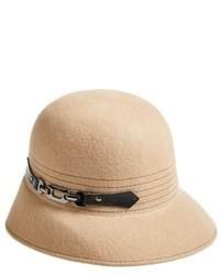 Chapeau en laine beige