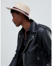Chapeau en laine beige ASOS DESIGN