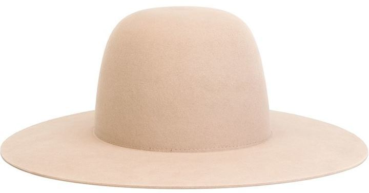 Chapeau en laine beige Off-White
