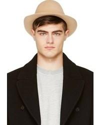 Chapeau en laine beige Undercover