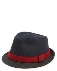 Chapeau en laine bleu marine