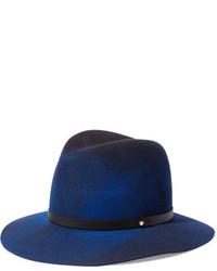 Chapeau en laine bleu marine Rag & Bone