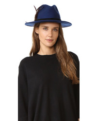 Chapeau en laine bleu Club Monaco