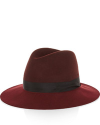 Chapeau en laine bordeaux Rag and Bone