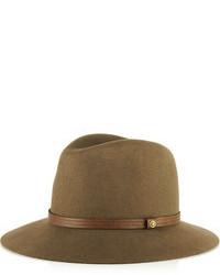 Chapeau en laine brun Rag and Bone