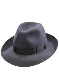 Chapeau en laine gris foncé