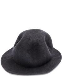 Chapeau en laine gris foncé CA4LA