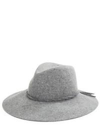 Chapeau en laine gris