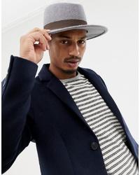 Chapeau en laine gris ASOS DESIGN