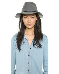 Chapeau en laine gris Brixton