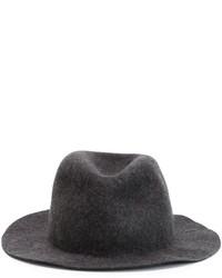 Chapeau en laine gris Comme des Garcons
