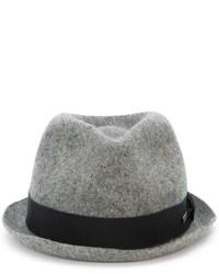 Chapeau en laine gris DSQUARED2