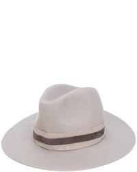Chapeau en laine gris Eleventy