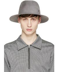 Chapeau en laine gris Larose