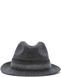 Chapeau en laine gris Paul Smith