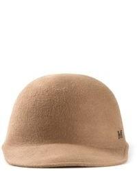 Chapeau en laine marron clair