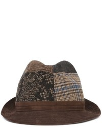 Chapeau en laine marron Etro