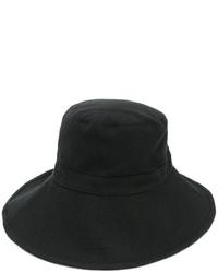 Chapeau en laine noir Ann Demeulemeester