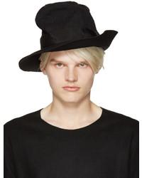 Chapeau en laine noir Attachment