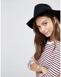 Chapeau en laine noir Brixton