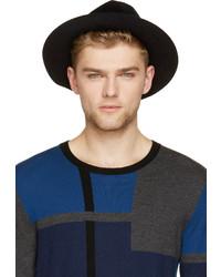 Chapeau en laine noir Burberry
