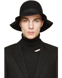 Chapeau en laine noir CNC Costume National