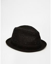 Chapeau en laine noir Goorin Bros.