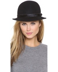 Chapeau en laine noir Rag and Bone