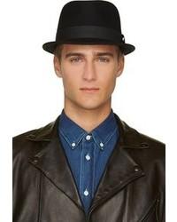 Chapeau en laine noir Rag and Bone