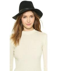Chapeau en laine noir Rag & Bone