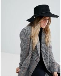 Chapeau en laine noir Ted Baker
