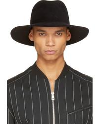 Chapeau en laine noir Undercover