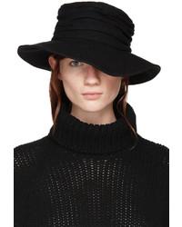 Chapeau en laine noir Y's