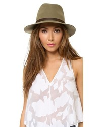 Chapeau en laine olive Rag and Bone