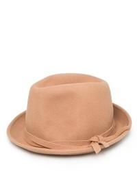 Chapeau marron clair