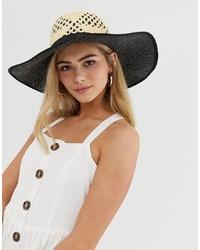 Chapeau marron clair Miss Selfridge