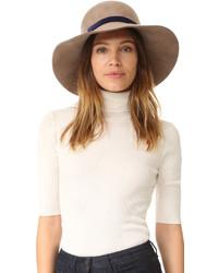 Chapeau marron Eugenia Kim