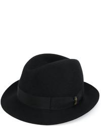 Chapeau noir Borsalino