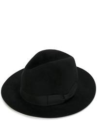Chapeau noir Ermanno Scervino
