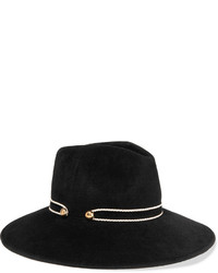 Chapeau noir Eugenia Kim