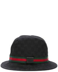 Chapeau noir Gucci